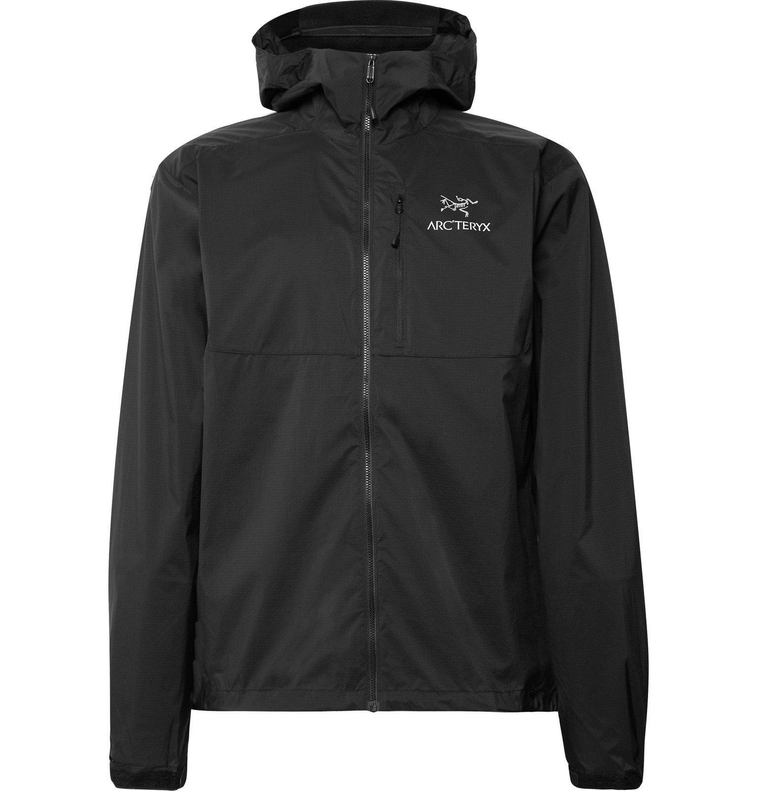 Photo: Arc'teryx - Squamish Ripstop Hooded Jacket - Black