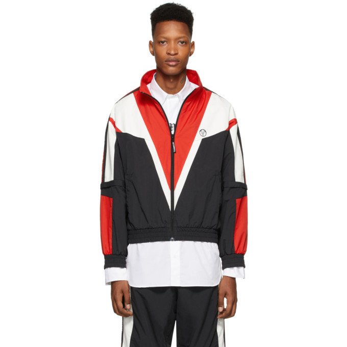 Photo: VETEMENTS Black and Red Track Jacket