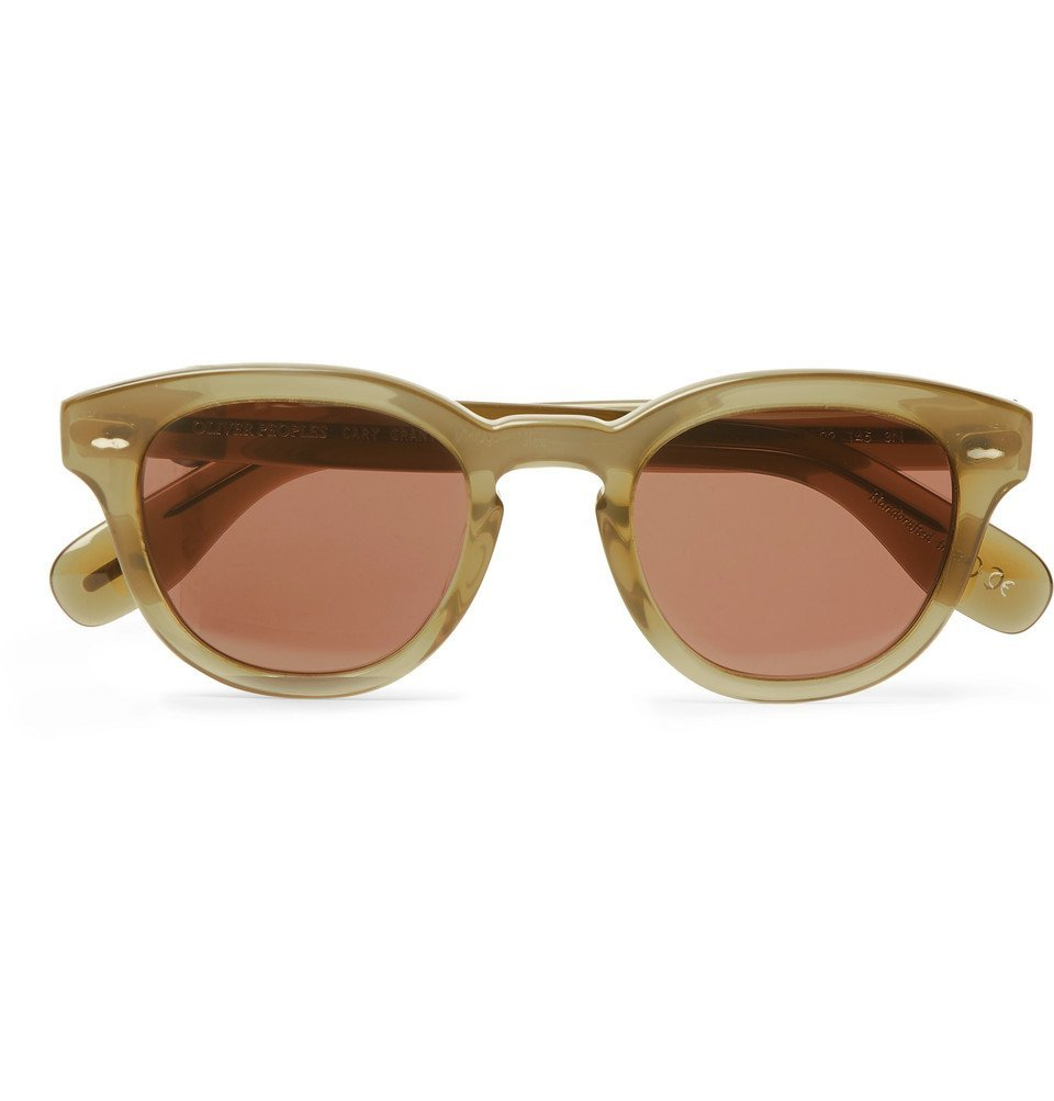 Oliver Peoples - Cary Grant Acetate Sunglasses - Green