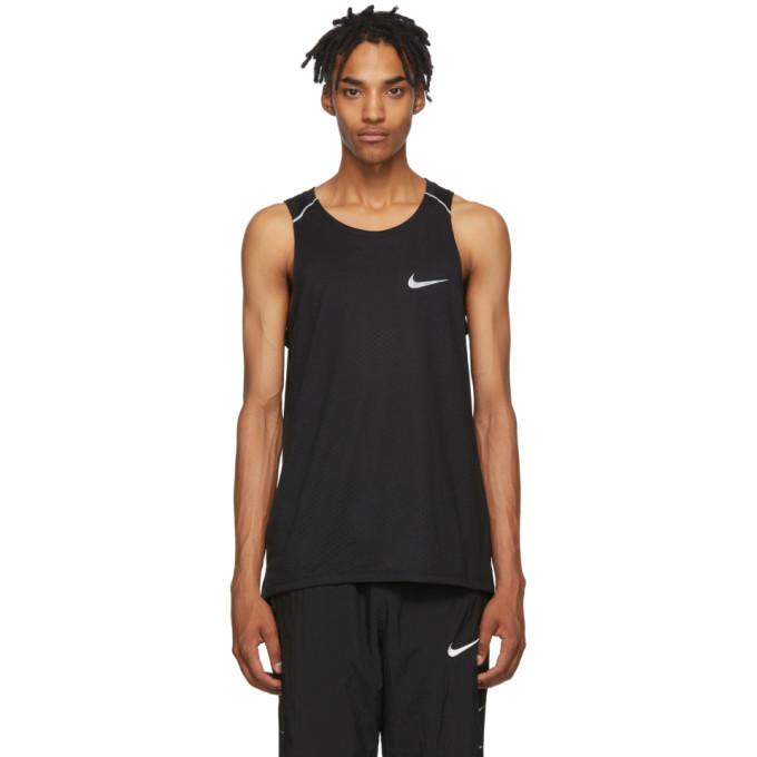 Photo: Nike Black Rise 365 Running Tank Top