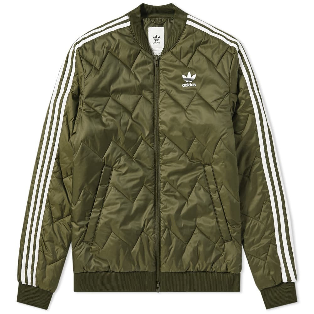 Adidas SST Quilted Jacket Night Cargo