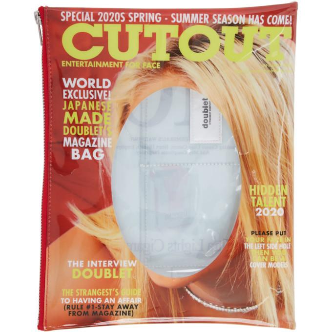 Photo: Doublet Multicolor Cutout Magazine Pouch