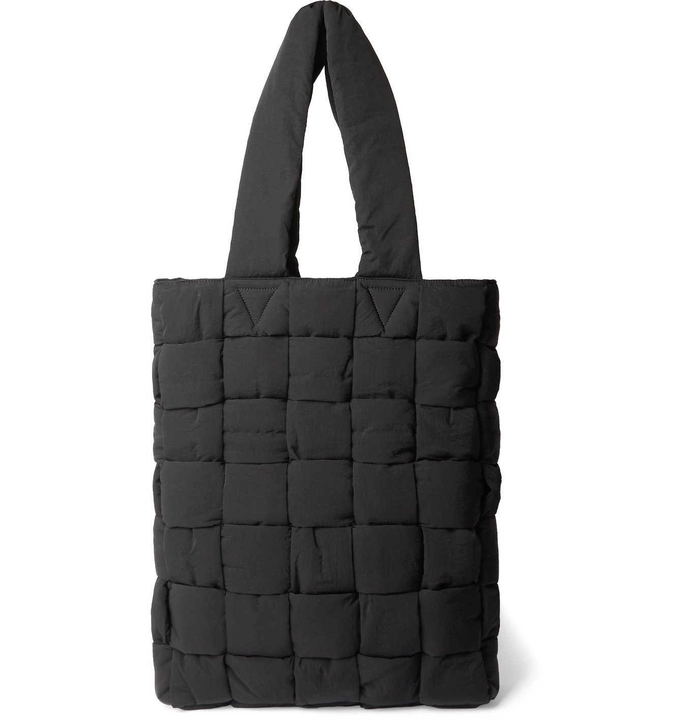 Photo: Bottega Veneta - Padded Quilted Nylon Tote Bag - Black