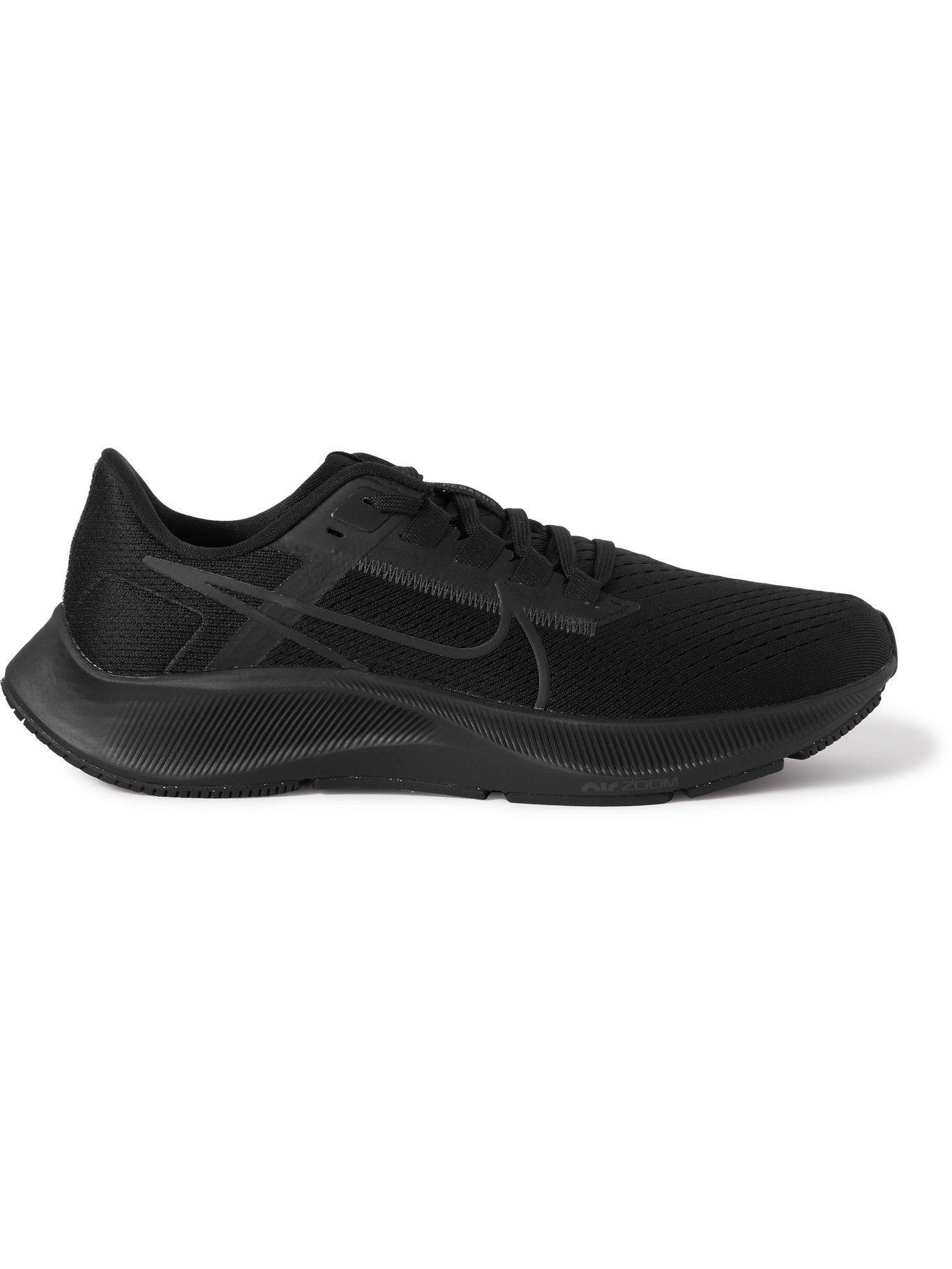 Photo: Nike Running - Air Zoom Pegasus 38 Mesh Running Sneakers - Black