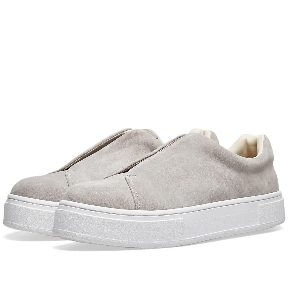 Photo: Eytys Doja Slip On Suede Cement