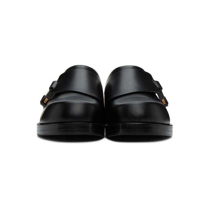 1017 ALYX 9SM Black Formal Clog Loafers