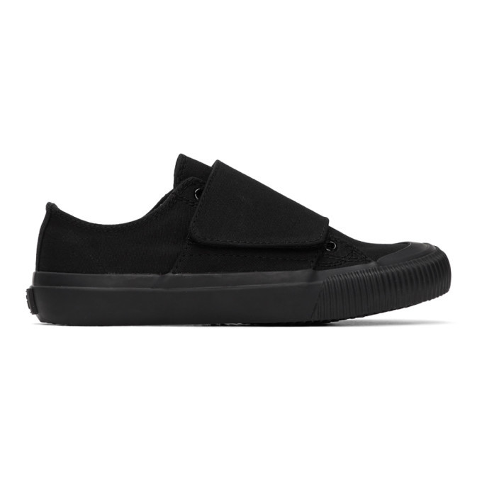 Photo: Ys Black Canvas No. 8 Sneakers
