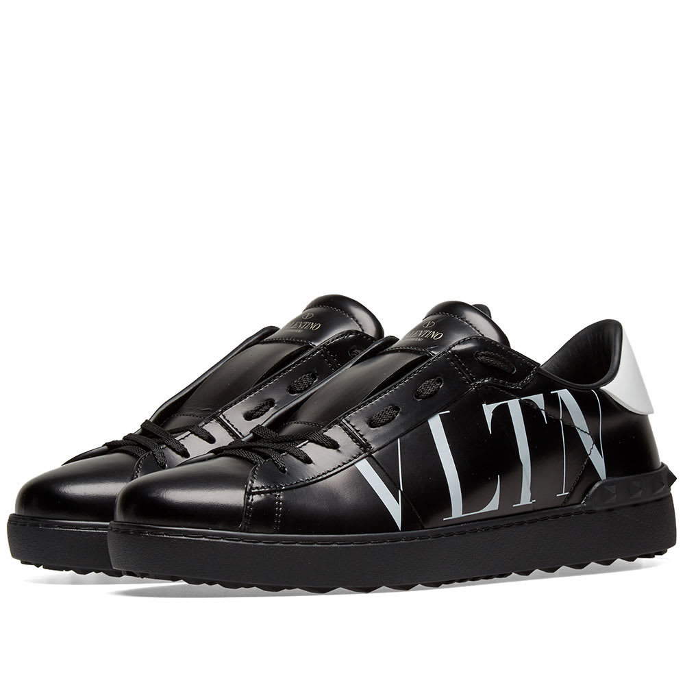 Photo: Valentino Open Low VLTN Logo Sneaker