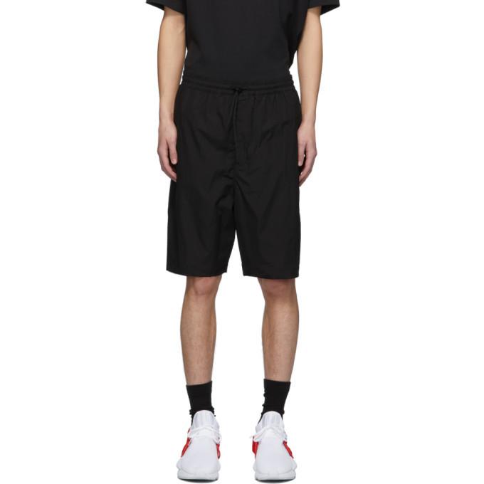 Photo: Y-3 Black Travel Shorts