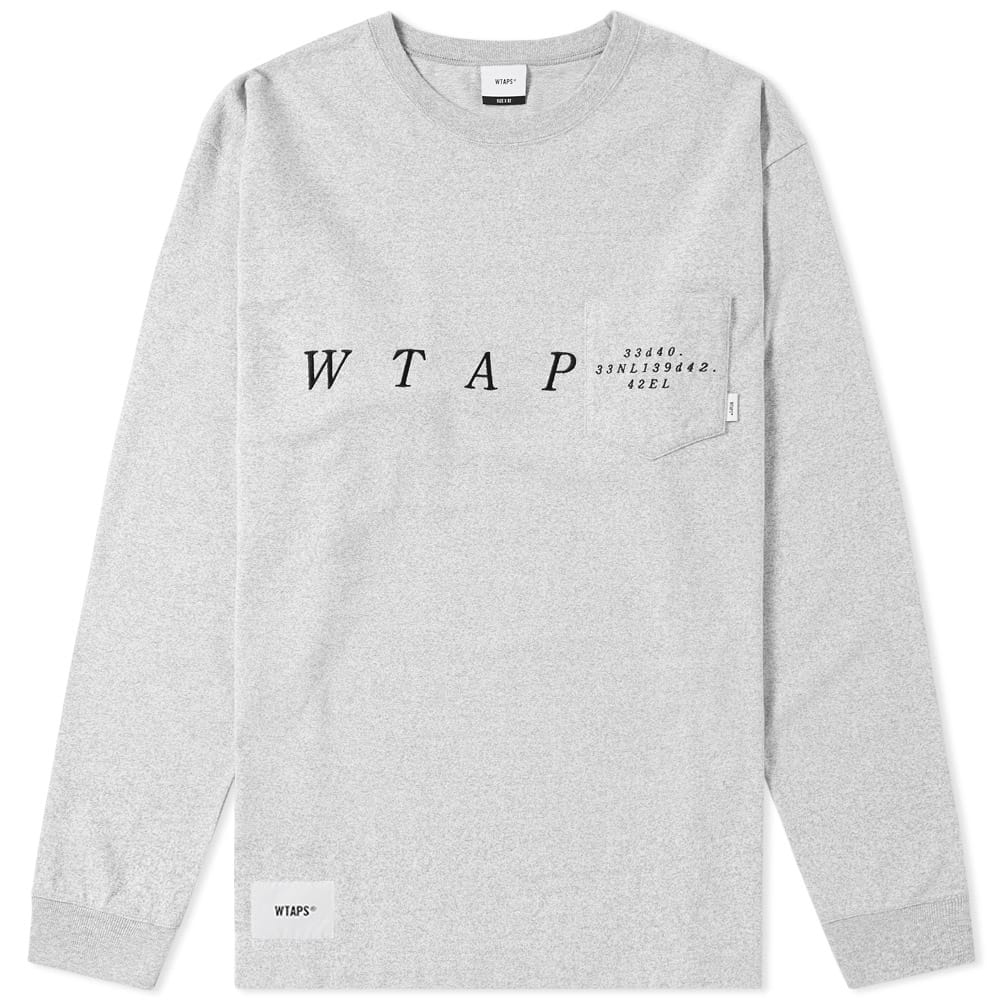 Photo: WTAPS Long Sleeve Blank System Tee