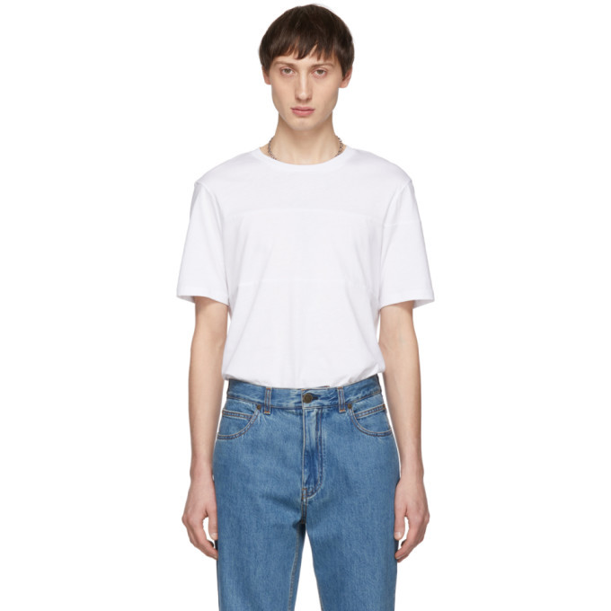 Photo: Helmut Lang White Band Seam T-Shirt