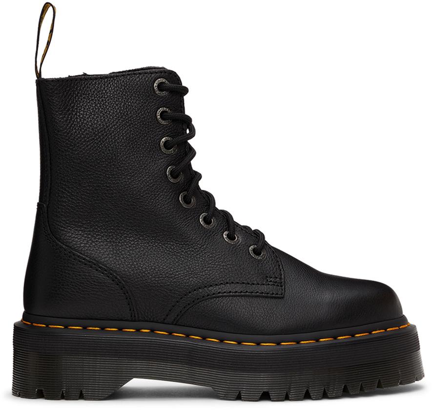 Photo: Dr. Martens Black Pisa Jadon Platform Boots