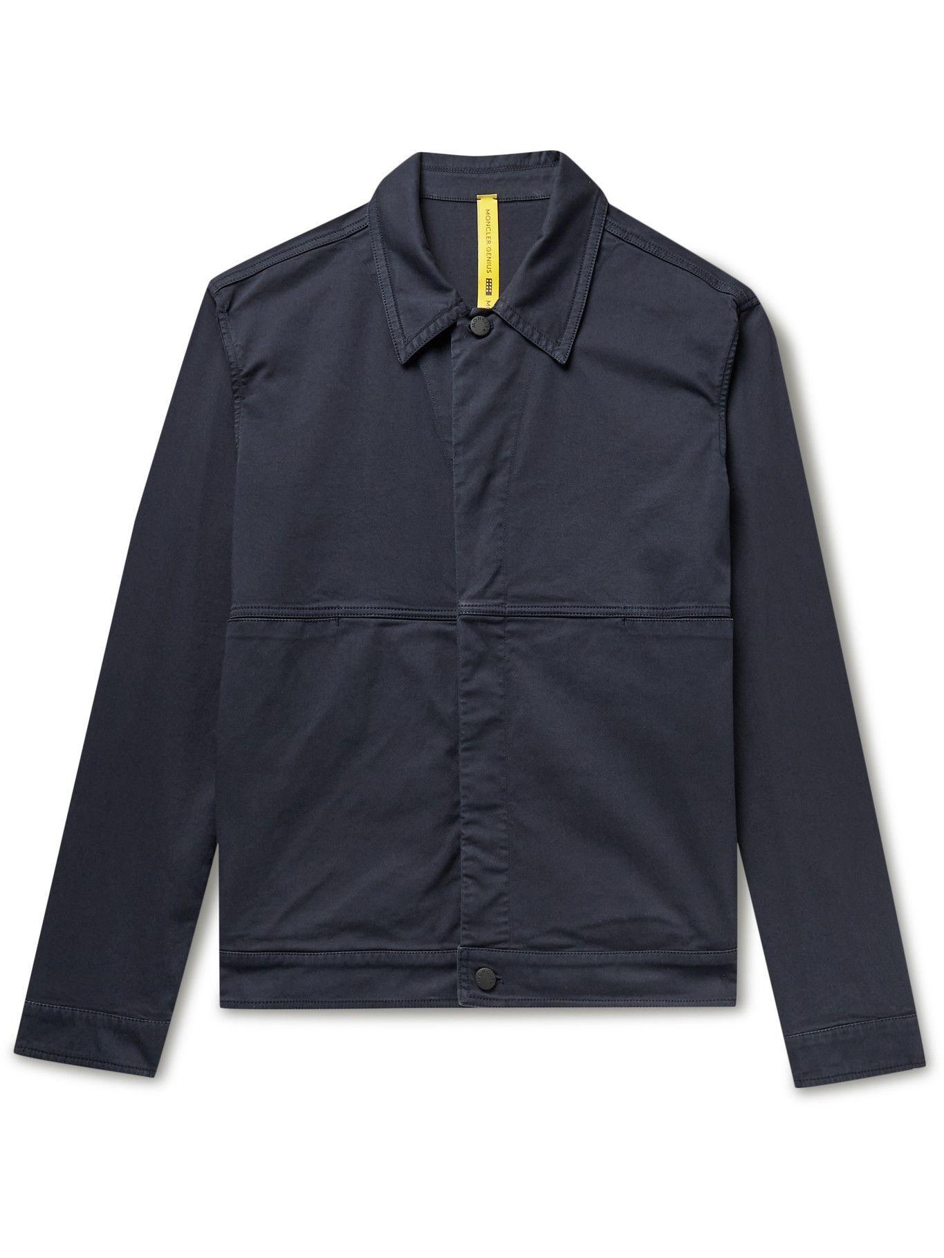 Photo: MONCLER GENIUS - 5 Moncler Craig Green Coleonyx Cotton-Blend Twill Jacket - Blue