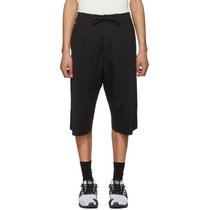 Y-3 Black 3D Shorts