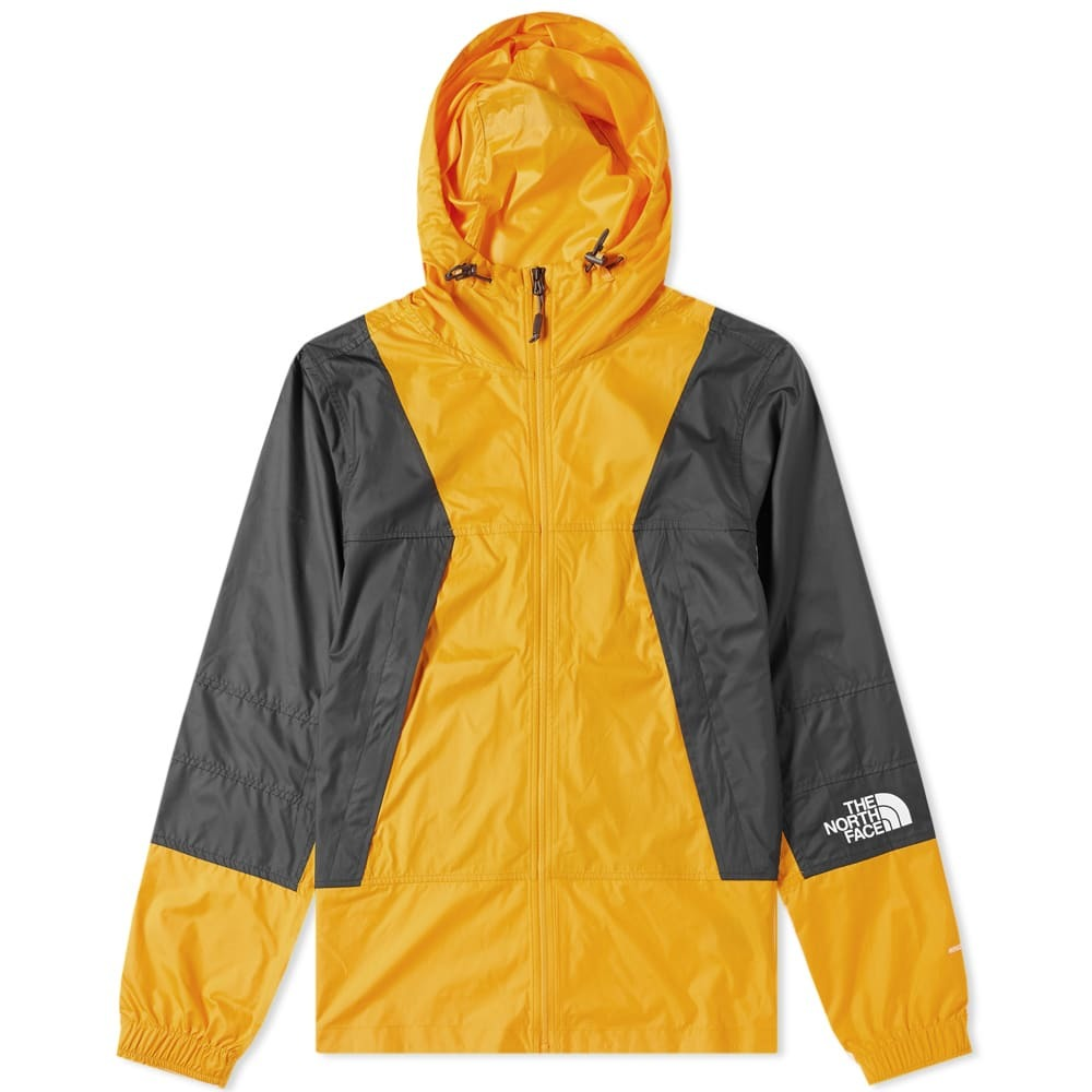 Photo: The North Face Mountain Light Windshell Jacket Zinnia Orange
