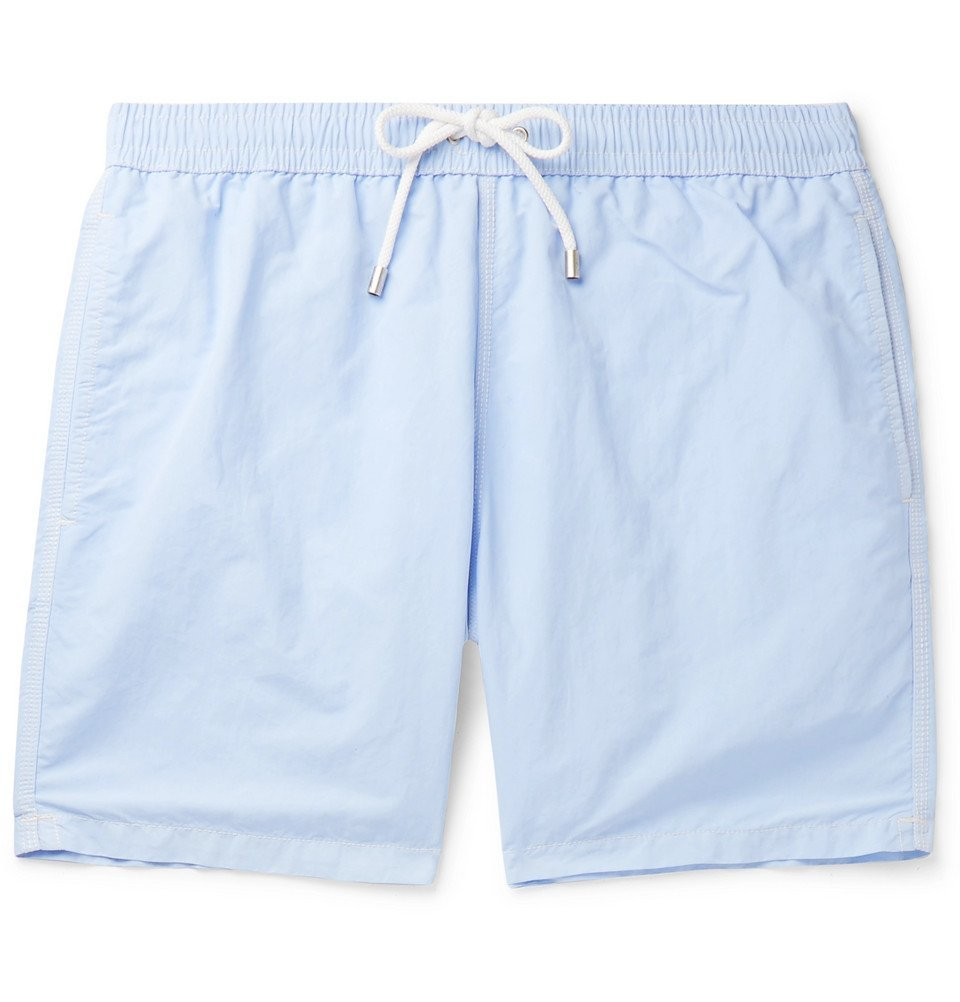 Photo: Hartford - Mid-Length Swim Shorts - Light blue