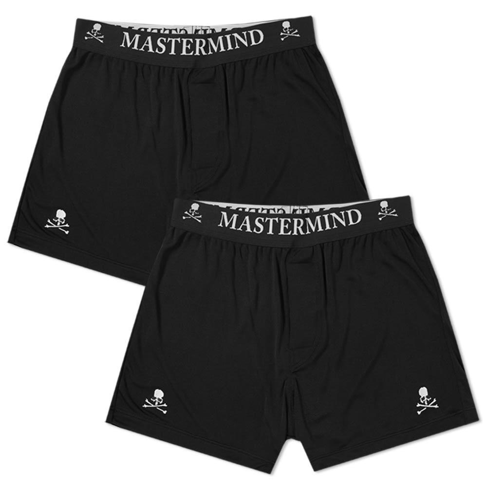 Photo: MASTERMIND WORLD Silk Boxer Short - 2 Pack
