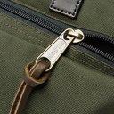 Filson - Dryden Leather-Trimmed Nylon Briefcase - Green