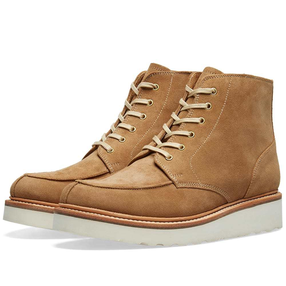 Photo: Grenson Buster Vibram Sole Apron Boot