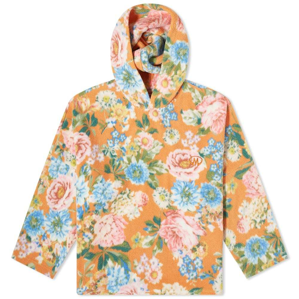 Photo: Martine Rose Floral Fleece Popover Hoody