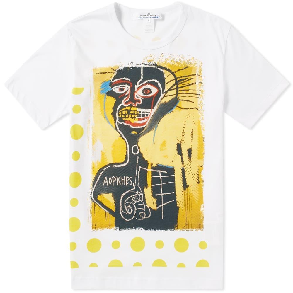 Photo: Comme des Garcons SHIRTx Jean-Michel Basquiat Print Tee