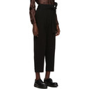 3.1 Phillip Lim Black Twill Structured Trousers