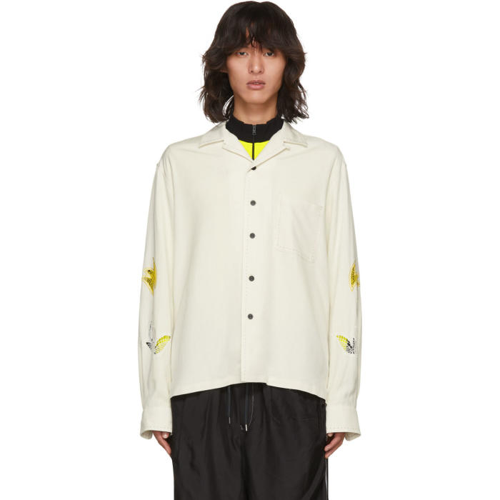 Photo: Toga Virilis Off-White Stitch Shirt