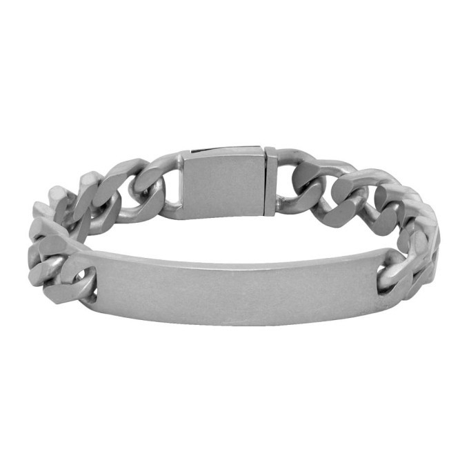 Photo: Maison Margiela Silver ID Bracelet