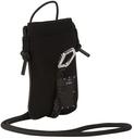 MCQ Black Neoprene Hyper Phone Holder Bag