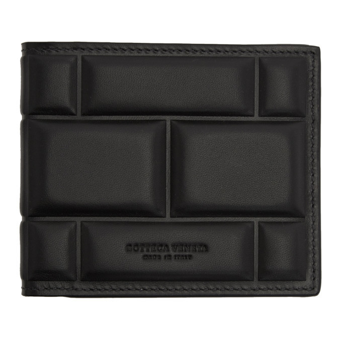 Photo: Bottega Veneta SSENSE Exclusive Black High Frequency Imbottiture Wallet