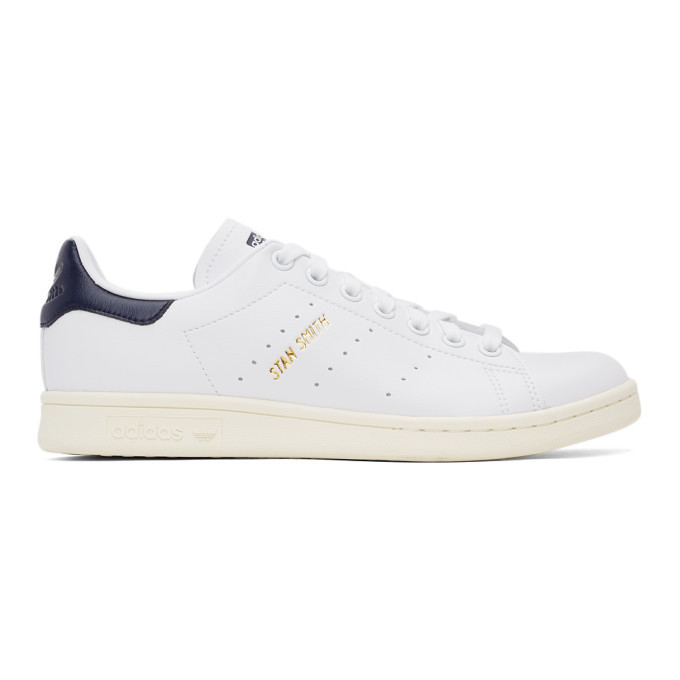 adidas Originals White Primegreen Stan Smith Sneakers