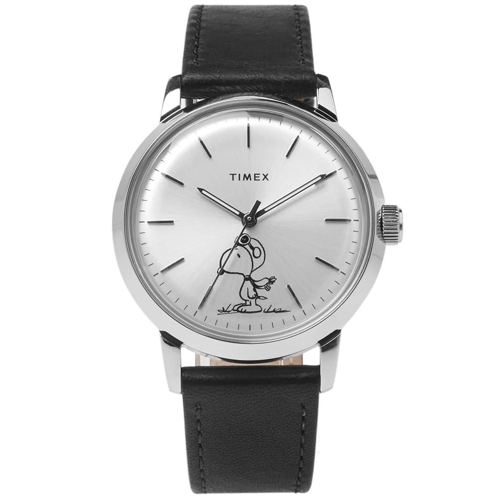 Photo: Timex x Peanuts Marlin Automatic Snoopy Watch