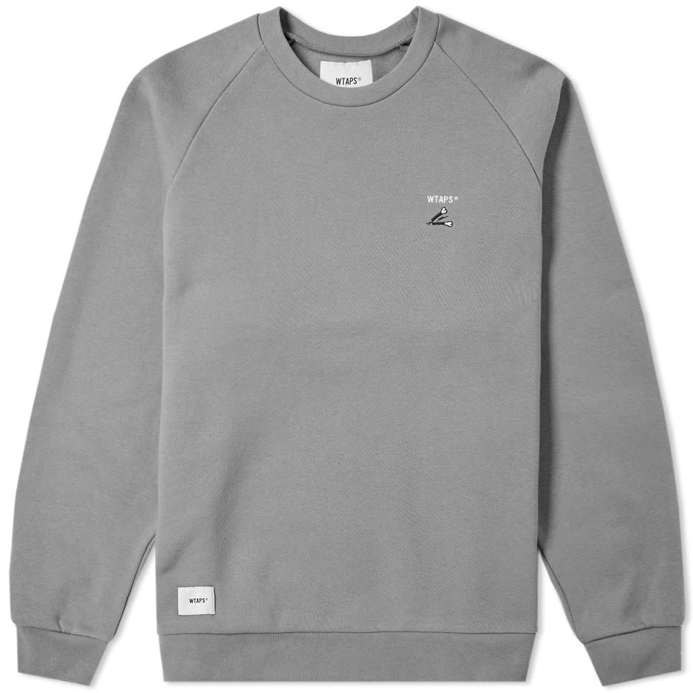 Photo: WTAPS Crack 01 Crew Sweat Grey