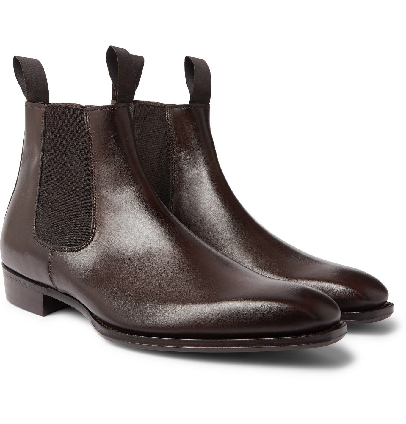 Photo: George Cleverley - Robert Leather Chelsea Boots - Brown