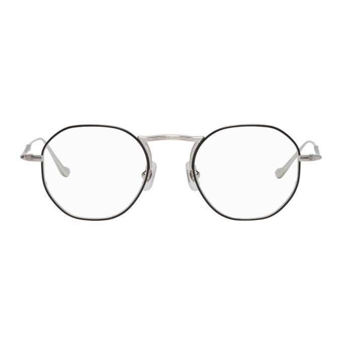 Photo: Matsuda Silver M3057 Brushed Glasses