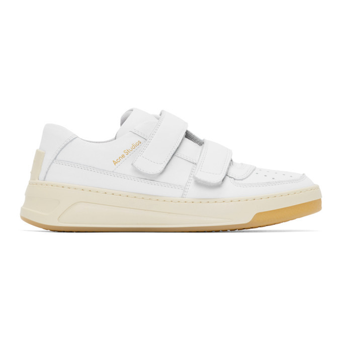 Photo: Acne Studios White Steffey Sneakers