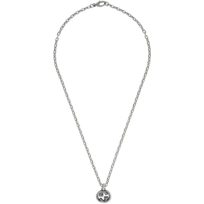 Photo: Gucci Silver Interlocking G Chain Necklace