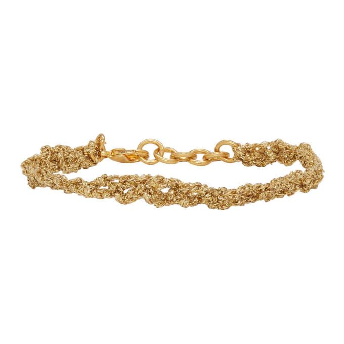 Photo: Acne Studios Gold Angel Bracelet