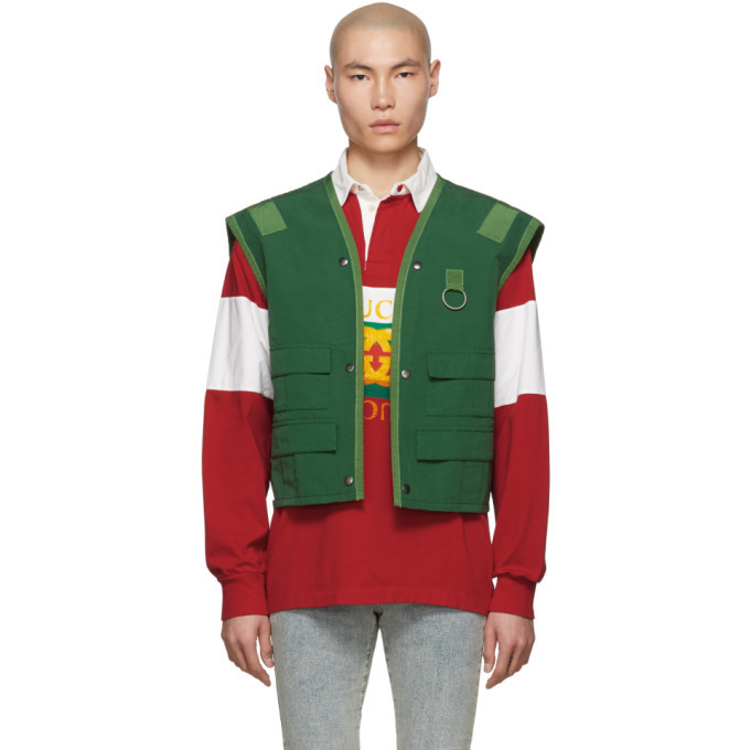 Photo: Gucci Green Ring Vest