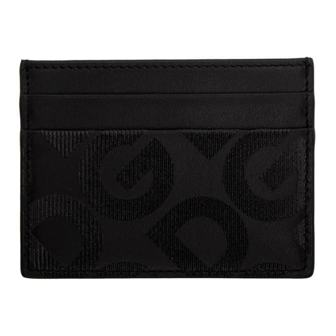 Photo: Dolce and Gabbana Black Logo Card Holder