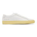 Common Projects White Achilles Low Vintage Sole Sneakers
