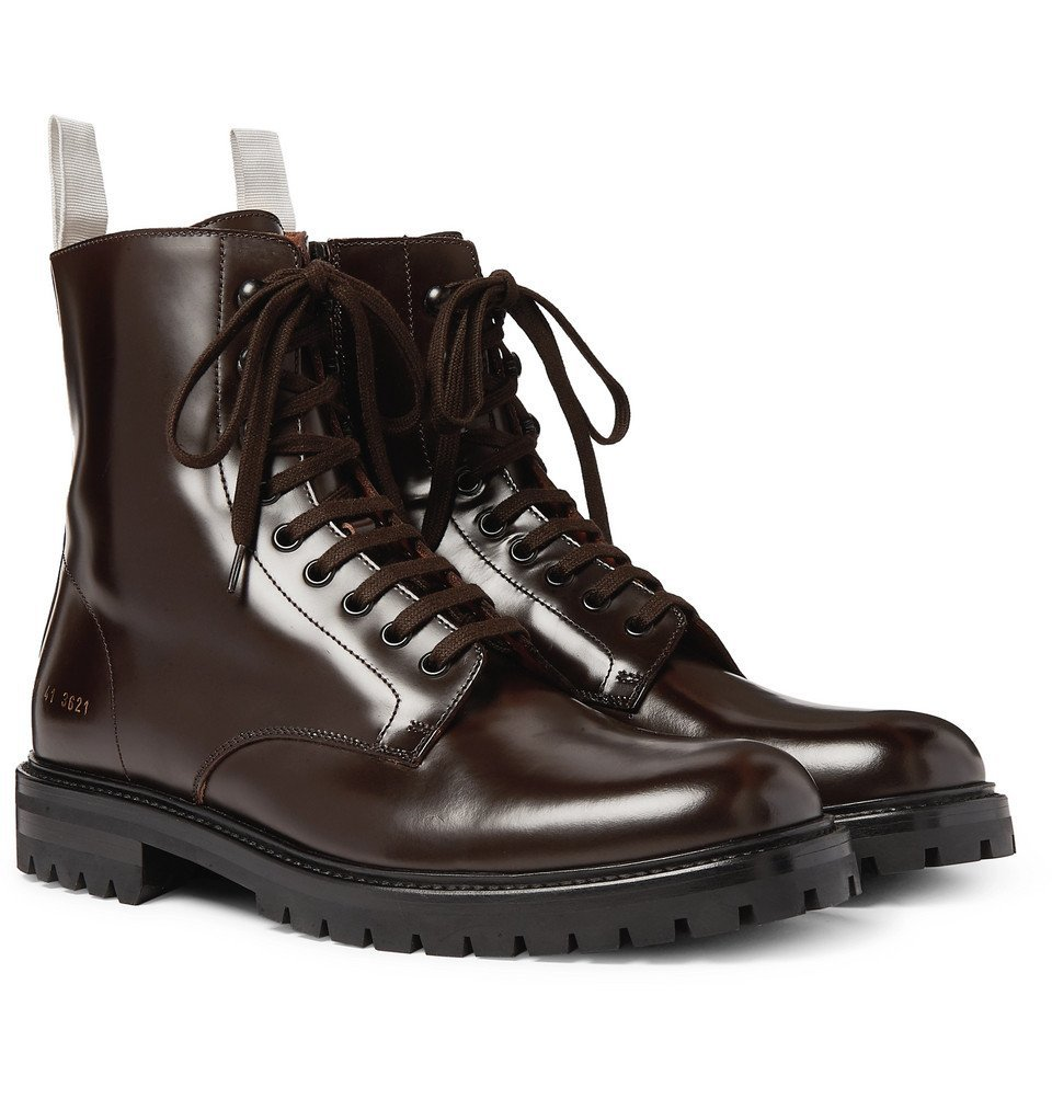 Photo: Common Projects - Leather Boots - Brown
