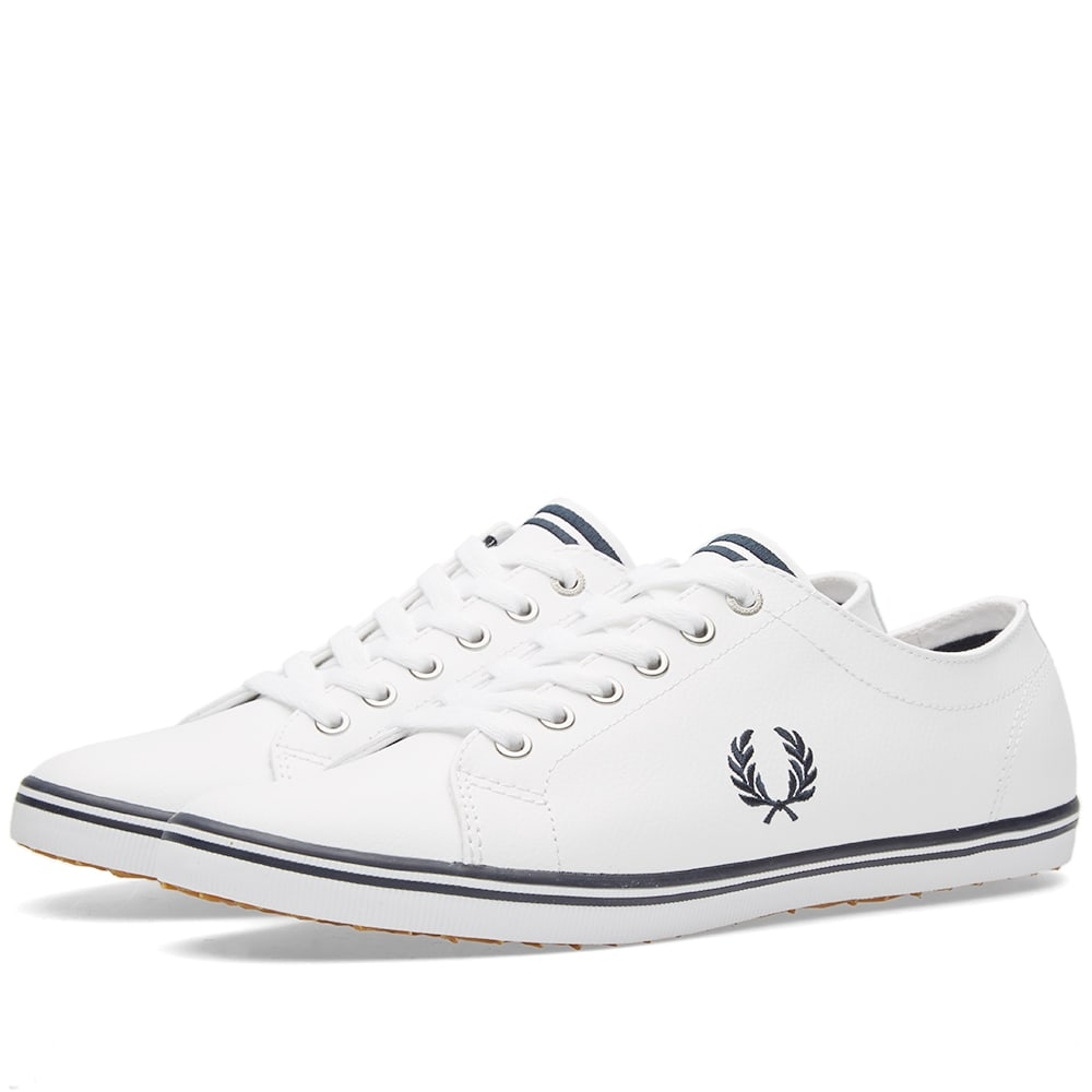 Photo: Fred Perry Kingston Leather Sneaker White