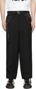 Sacai Black Wool & Nylon Trousers