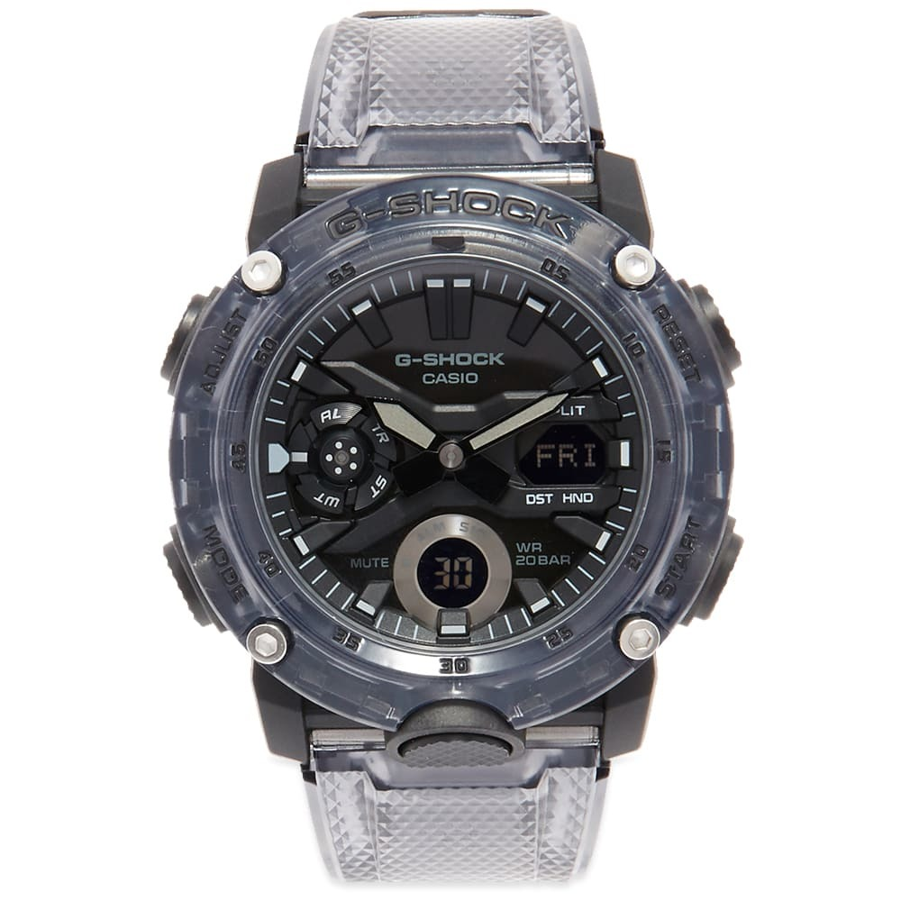 Photo: Casio G-Shock GA-2000 Transparent Watch