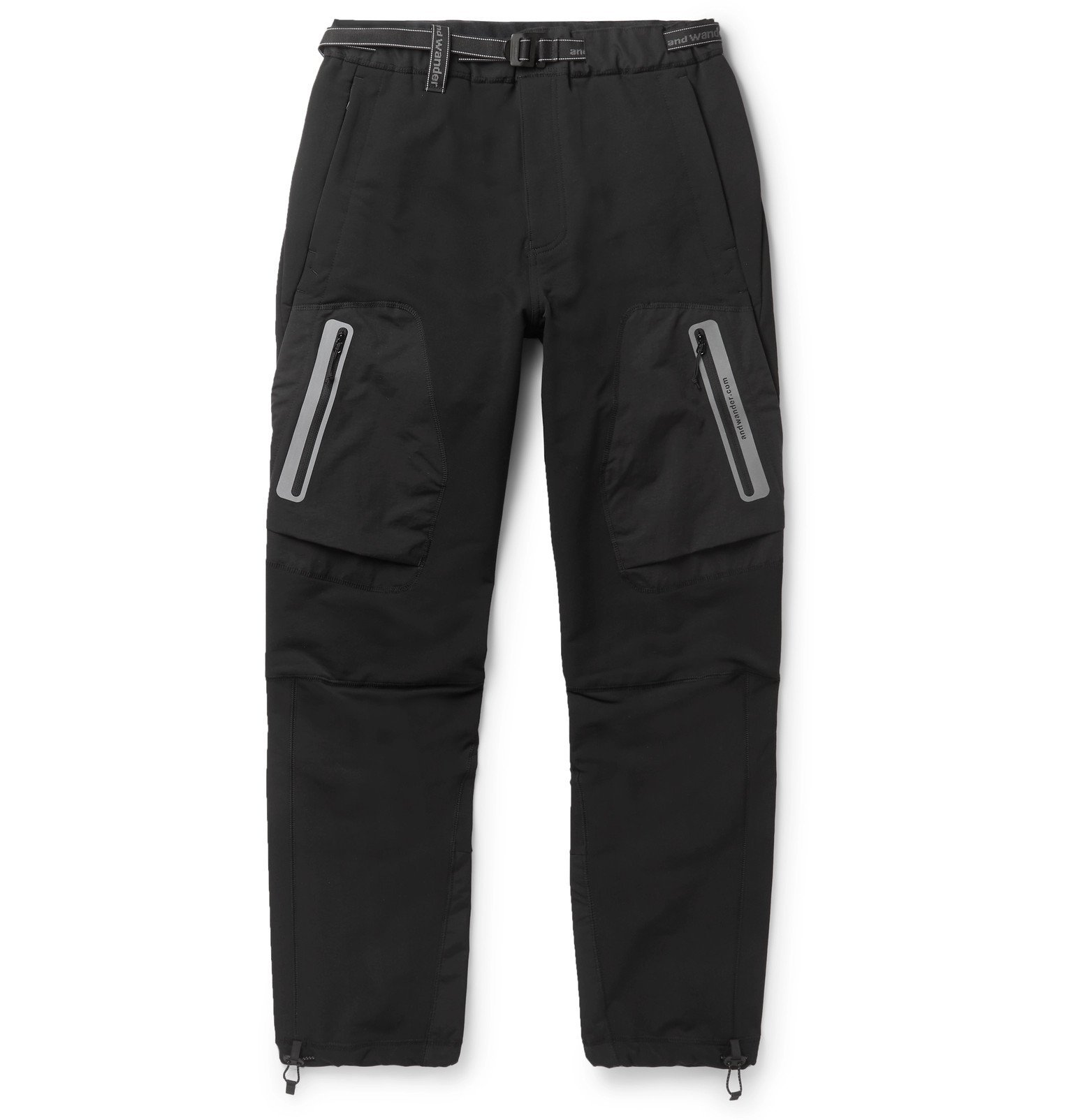 Photo: And Wander - Shell Trousers - Black