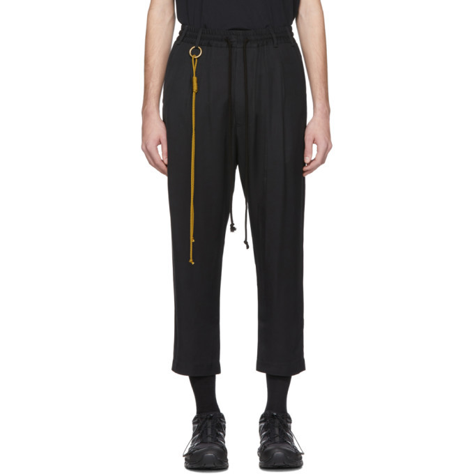 Photo: Song for the Mute Black Relaxed Lounge Pants