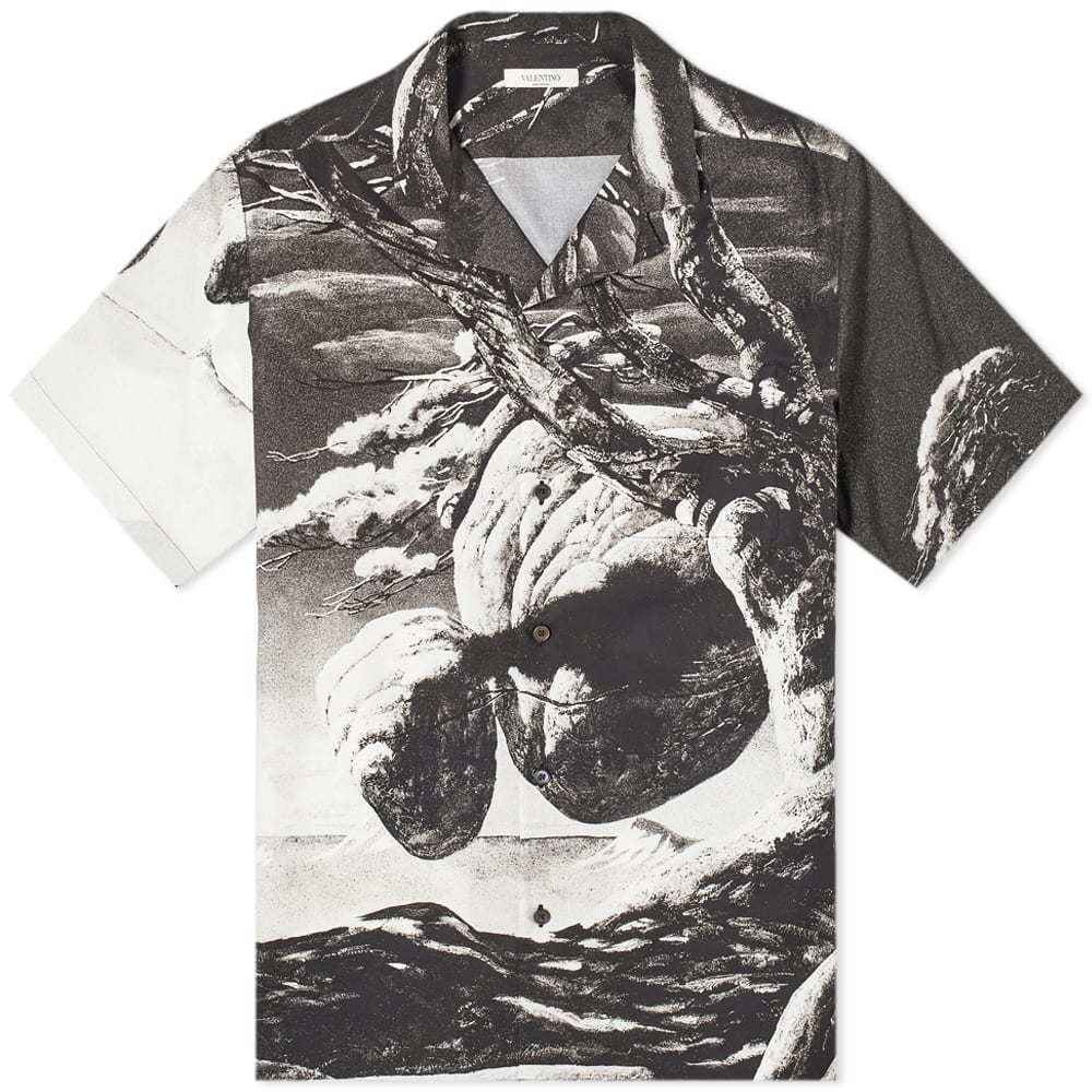 Valentino x Roger Dean Tonal Floating Island Vacation Shirt
