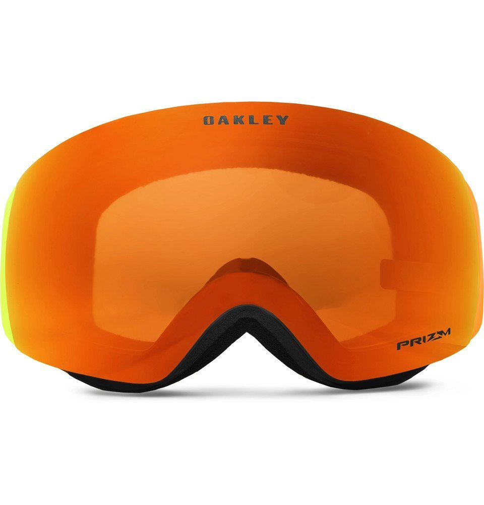 Photo: Oakley - Flight Deck XM Harmony Fade Rimless Prizm Ski Goggles - Men - Bright orange
