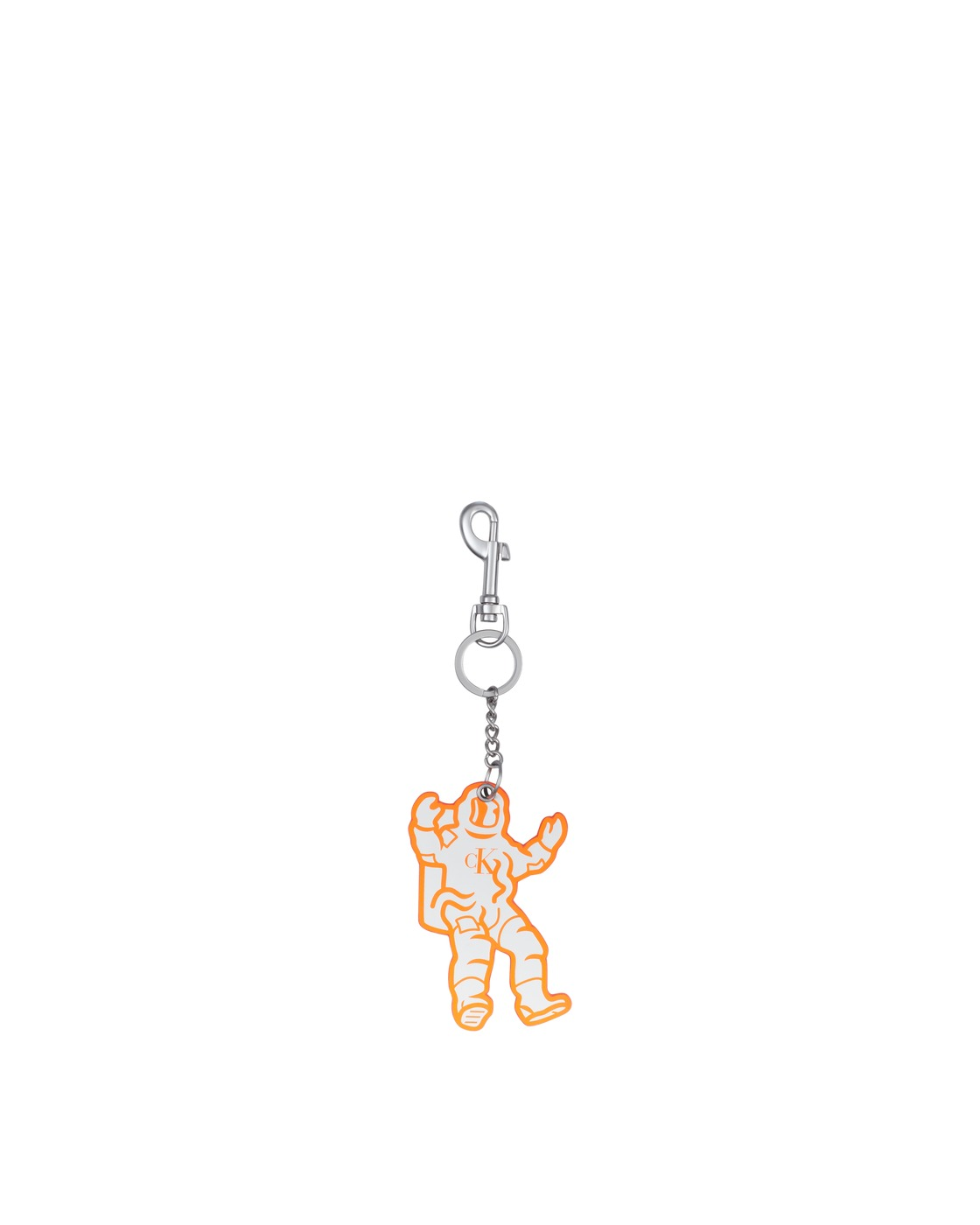 Photo: Calvin Klein Est. 1978 Astronaut Keychains Fluoro Orange